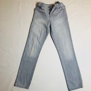 Children's Place gray boys skinny jeans size 12